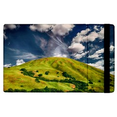 Hill Countryside Landscape Nature Apple Ipad 2 Flip Case by Celenk