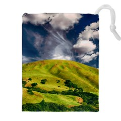 Hill Countryside Landscape Nature Drawstring Pouches (xxl) by Celenk