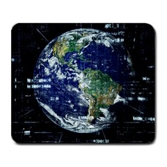 Earth Internet Globalisation Large Mousepads by Celenk
