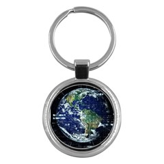 Earth Internet Globalisation Key Chains (round)  by Celenk