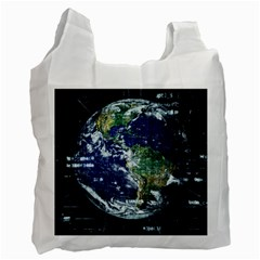 Earth Internet Globalisation Recycle Bag (one Side) by Celenk