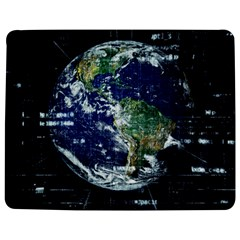 Earth Internet Globalisation Jigsaw Puzzle Photo Stand (rectangular)