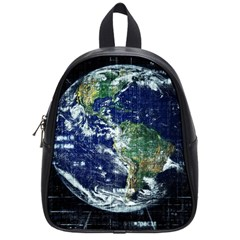 Earth Internet Globalisation School Bag (small) by Celenk