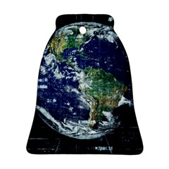 Earth Internet Globalisation Ornament (bell) by Celenk