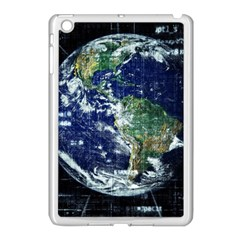 Earth Internet Globalisation Apple Ipad Mini Case (white) by Celenk