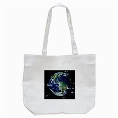 Earth Internet Globalisation Tote Bag (white) by Celenk