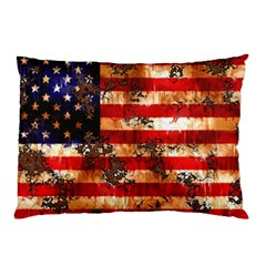 American Flag Usa Symbol National Pillow Case (two Sides)