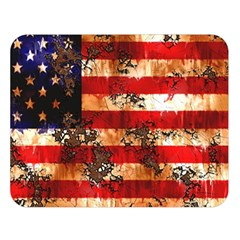 American Flag Usa Symbol National Double Sided Flano Blanket (large)