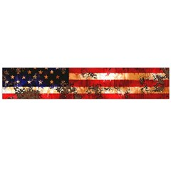 American Flag Usa Symbol National Large Flano Scarf  by Celenk