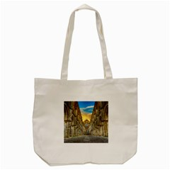 Abbey Ruin Architecture Medieval Tote Bag (cream) by Celenk