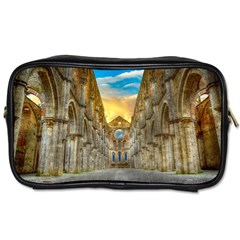 Abbey Ruin Architecture Medieval Toiletries Bags by Celenk