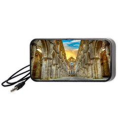 Abbey Ruin Architecture Medieval Portable Speaker