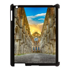 Abbey Ruin Architecture Medieval Apple Ipad 3/4 Case (black) by Celenk