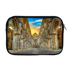 Abbey Ruin Architecture Medieval Apple Macbook Pro 17  Zipper Case by Celenk