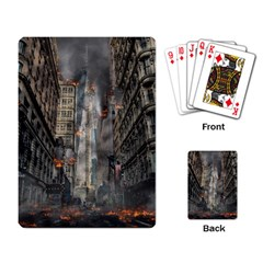 Destruction War Conflict Death Playing Card by Celenk