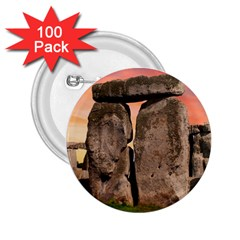 Stonehenge Ancient England 2 25  Buttons (100 Pack)