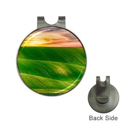 Hills Countryside Sky Rural Hat Clips With Golf Markers