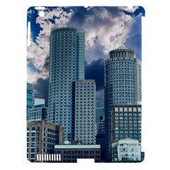 Tower Blocks Skyscraper City Modern Apple Ipad 3/4 Hardshell Case (compatible With Smart Cover) by Celenk