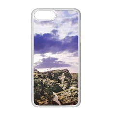 Mountain Snow Landscape Winter Apple Iphone 8 Plus Seamless Case (white) by Celenk