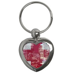 London England City Key Chains (heart)  by Celenk