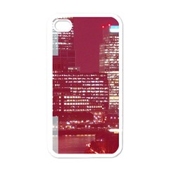 London England City Apple Iphone 4 Case (white) by Celenk