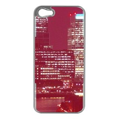 London England City Apple Iphone 5 Case (silver) by Celenk