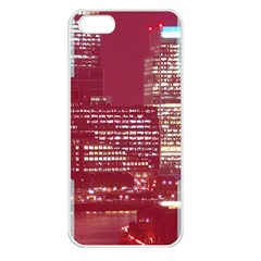 London England City Apple Iphone 5 Seamless Case (white) by Celenk