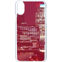 London England City Apple Iphone X Seamless Case (white) by Celenk