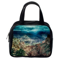 Canyon Mountain Landscape Nature Classic Handbags (one Side)