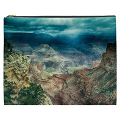 Canyon Mountain Landscape Nature Cosmetic Bag (xxxl)  by Celenk