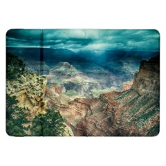 Canyon Mountain Landscape Nature Samsung Galaxy Tab 8 9  P7300 Flip Case by Celenk