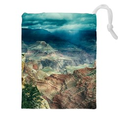 Canyon Mountain Landscape Nature Drawstring Pouches (xxl)