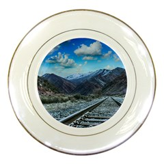 Nature Landscape Mountains Slope Porcelain Plates