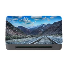 Nature Landscape Mountains Slope Memory Card Reader With Cf