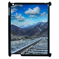 Nature Landscape Mountains Slope Apple Ipad 2 Case (black)