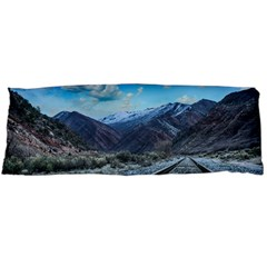 Nature Landscape Mountains Slope Body Pillow Case Dakimakura (two Sides) by Celenk