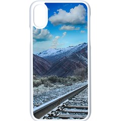 Nature Landscape Mountains Slope Apple Iphone X Seamless Case (white)