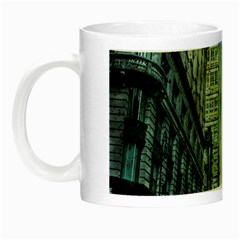 Storm Damage Disaster Weather Night Luminous Mugs by Celenk