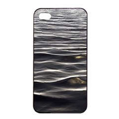 Texture Background Water Apple Iphone 4/4s Seamless Case (black)