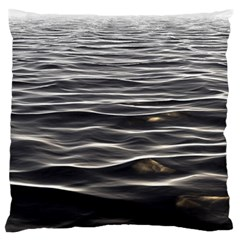 Texture Background Water Large Flano Cushion Case (one Side) by Celenk