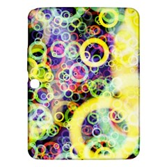 Background Texture Rings Samsung Galaxy Tab 3 (10 1 ) P5200 Hardshell Case  by Celenk