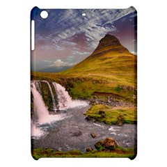 Nature Mountains Cliff Waterfall Apple Ipad Mini Hardshell Case