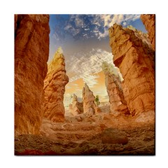 Canyon Desert Landscape Scenic Tile Coasters by Celenk