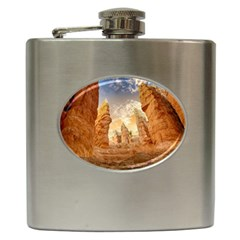 Canyon Desert Landscape Scenic Hip Flask (6 Oz) by Celenk