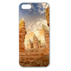 Canyon Desert Landscape Scenic Apple Seamless Iphone 5 Case (clear)