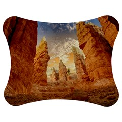 Canyon Desert Landscape Scenic Jigsaw Puzzle Photo Stand (bow) by Celenk