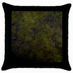 Green Background Texture Grunge Throw Pillow Case (black)