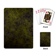 Green Background Texture Grunge Playing Card by Celenk