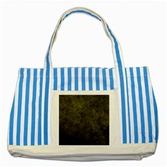 Green Background Texture Grunge Striped Blue Tote Bag by Celenk