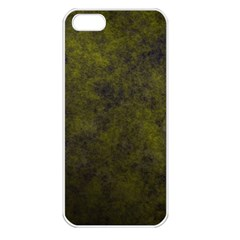 Green Background Texture Grunge Apple Iphone 5 Seamless Case (white)